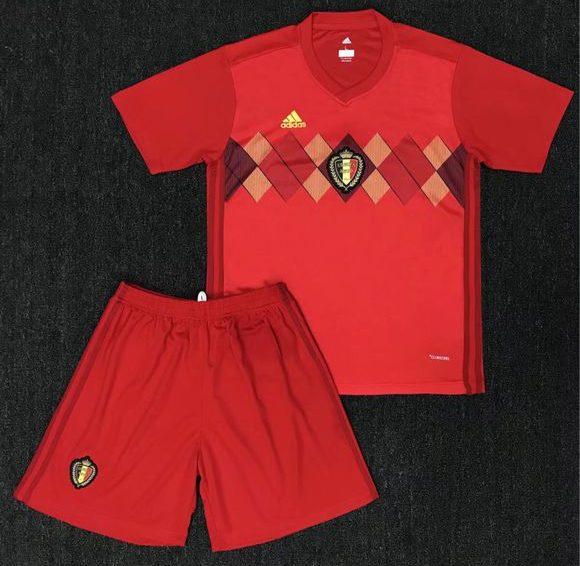 Belgien VM 2018 tröja