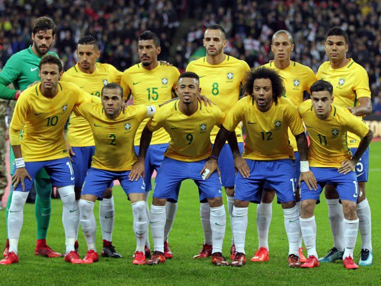Brasilien VM 2018 tröja