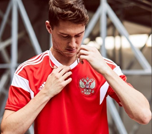 Ryssland VM 2018 tröja