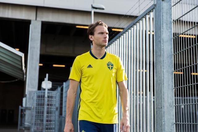 Sverige VM tröja 2018